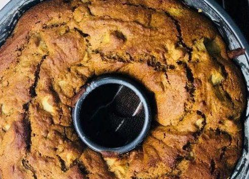 Κέικ αχλαδιού χωρίς ζάχαρη!