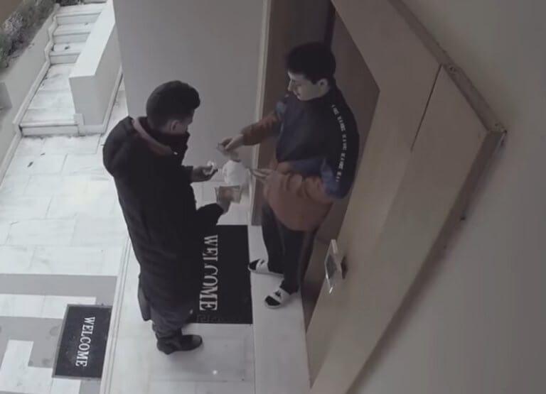 Ρόδος: Οι ντελιβεράδες προσπαθούσαν να πιστέψουν στα μάτια τους – Το πουρμπουάρ των 1.000 ευρώ – video