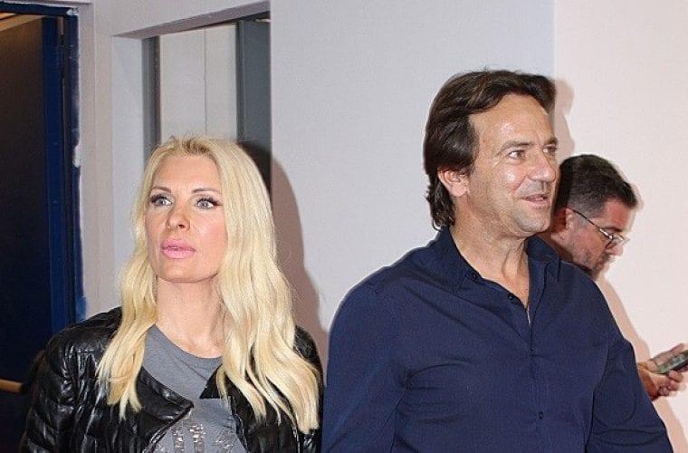 Ελένη Μενεγάκη – Μάκης Παντζόπουλος : Χεράκι – χεράκι σε δημόσια εμφάνιση τους