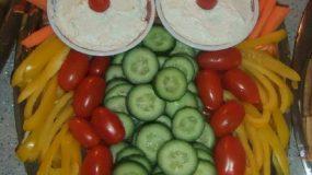 Σαλάτα κουκουβάγια για παιδικό πάρτυ