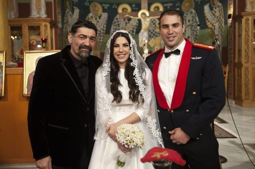 Ο Μιχάλης Ιατρόπουλος πάντρεψε την μοναχοκόρη του – Η φωτογραφία από την εκκλησία και το τρυφερό μήνυμά του