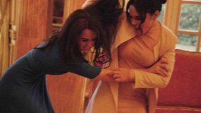 Μαλλί με μαλλί Κέιτ Μίντλετον και Μέγκαν Μαρκλ! [video]