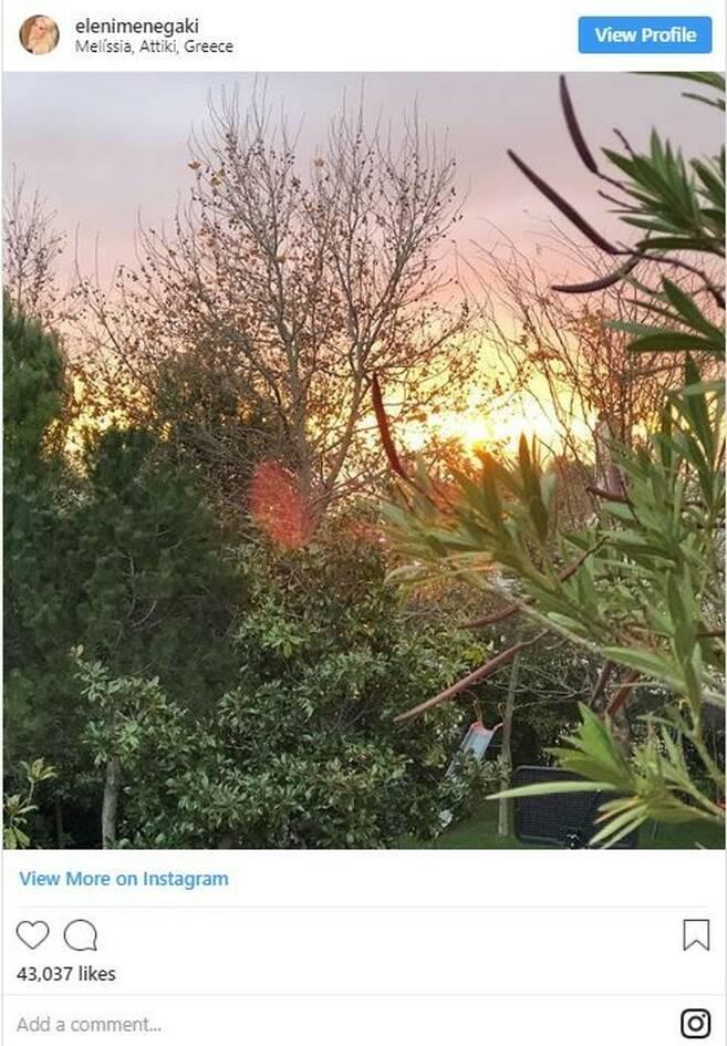 Ελένη Μενεγάκη: Δείτε φωτογραφίες από το σπίτι της παρουσιάστριας