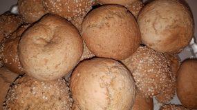 Αλάδωτα κουλουράκια με ταχίνι και πορτοκάλι