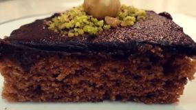 Νηστίσιμα κεράσματα με παντεσπάνι & σοκολάτα
