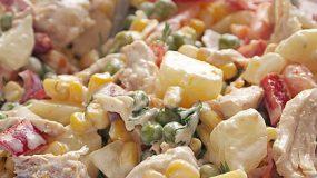 Υπέροχη συνταγή για κοτοσαλάτα με λίγες θερμίδες