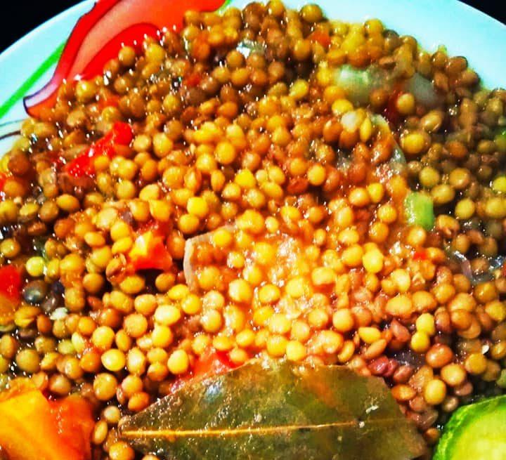 Φακές με λαχανικά! Χωρίς λάδι νηστίσιμες