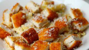 Συνταγή για φοιτητές - Μακαρόνια με κοτόπουλο cordon bleu