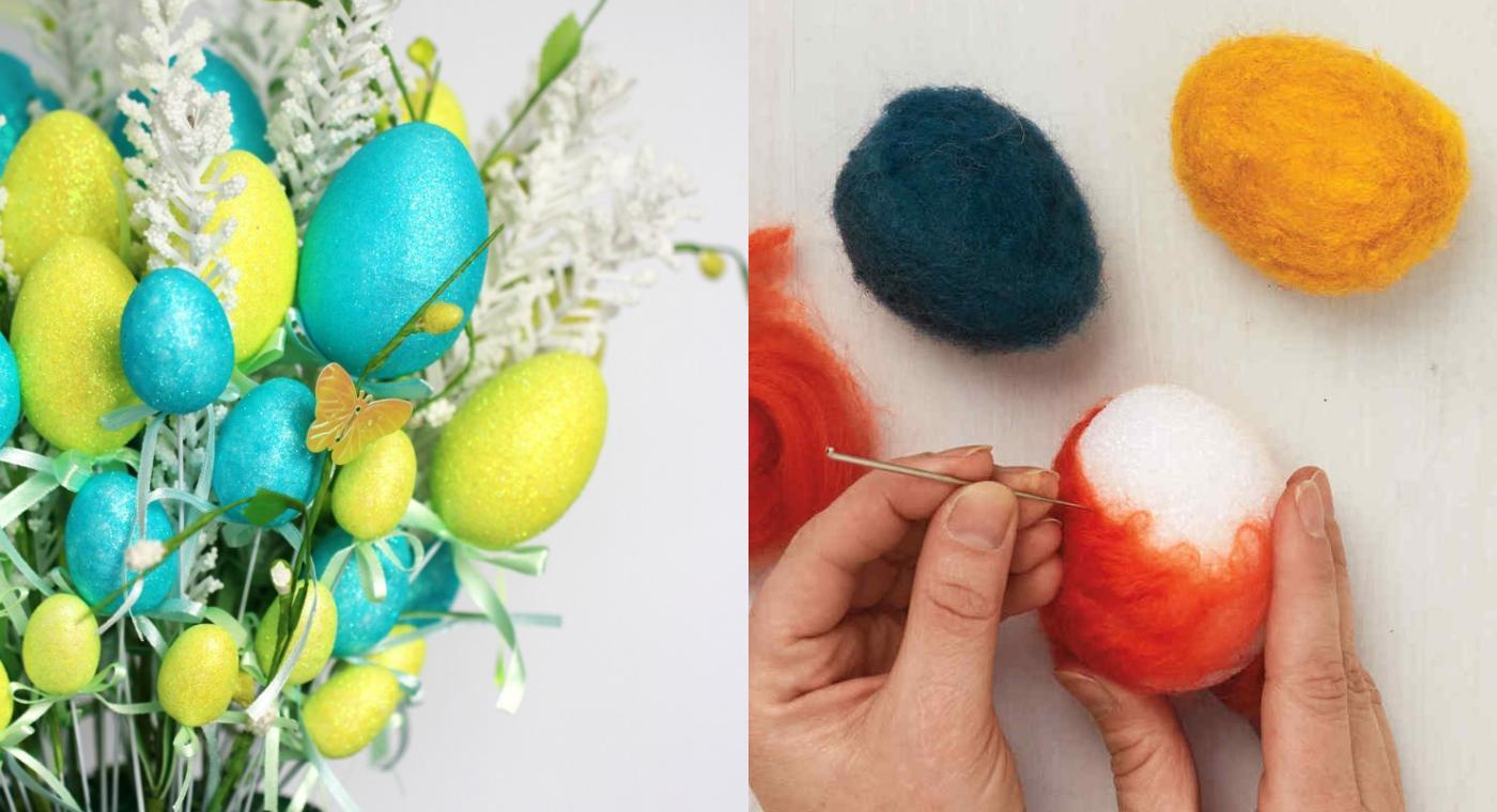 Πως να φτιάξετε διακοσμητικά αυγά από φελιζόλ για το Πάσχα – Δημιουργικές ιδέες για πολύχρωμη Πασχαλινή διακόσμηση
