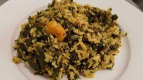 Νηστίσιμη Συνταγή - Σπανακόρυζο με καστανό ρύζι και 3χρωμη κινόα!!!