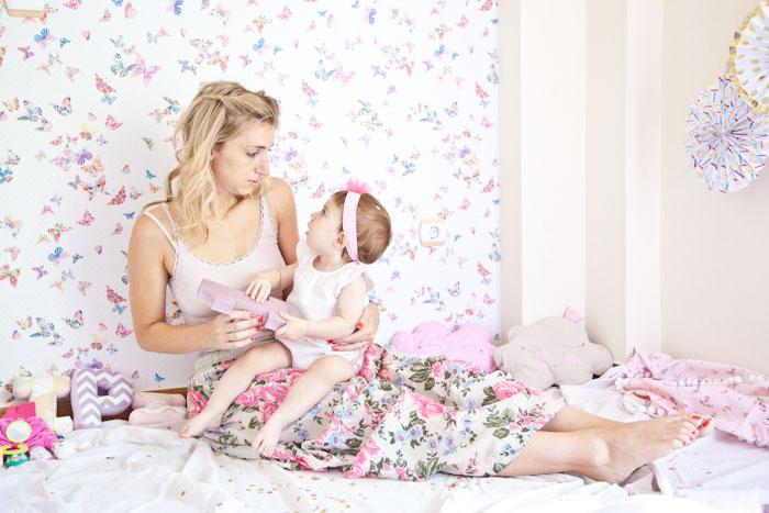 Όταν σε πρωτοείδα… - Η γέννηση της Ιριάνας μου
