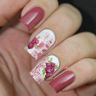 13+1 Υπέροχες ιδέες για εκπληκτικά νύχια σε απόχρωση σάπιο μήλο