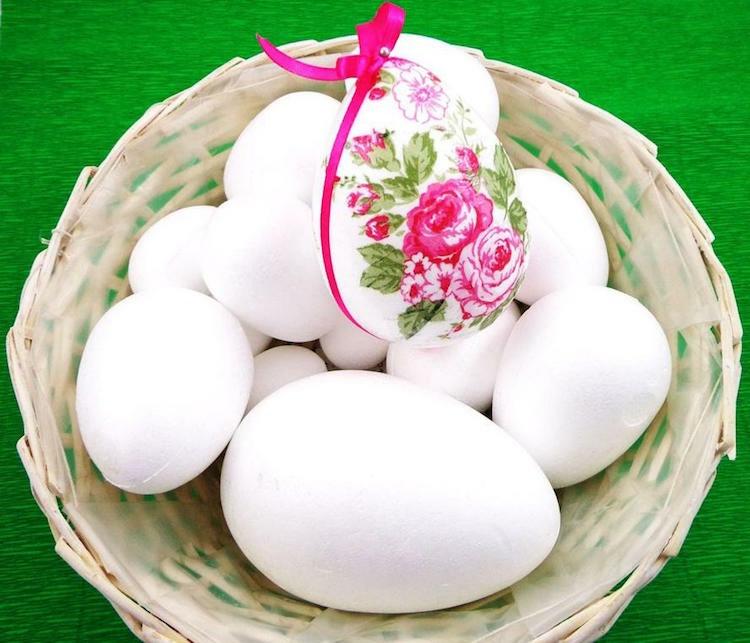 Πως να φτιάξετε διακοσμητικά αυγά από φελιζόλ για το Πάσχα