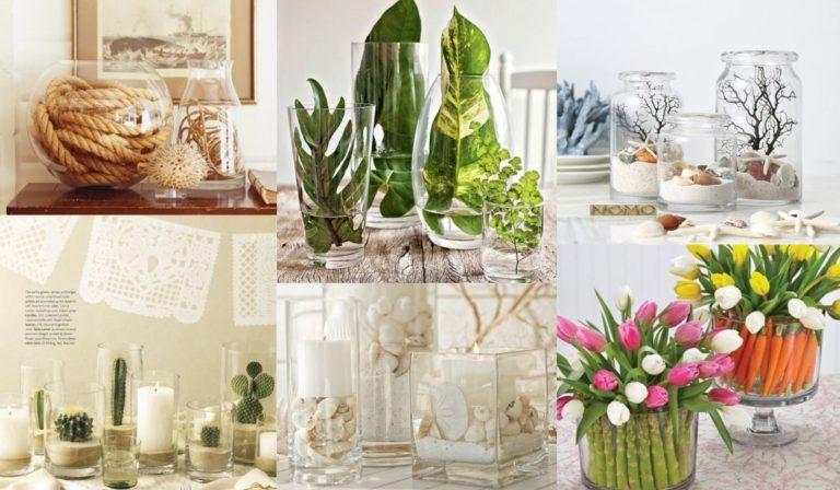 Έχετε γυάλινα βάζα; Δείτε ιδέες για να τα γεμίσετε και να φτιάξετε υπέροχες διακοσμήσεις