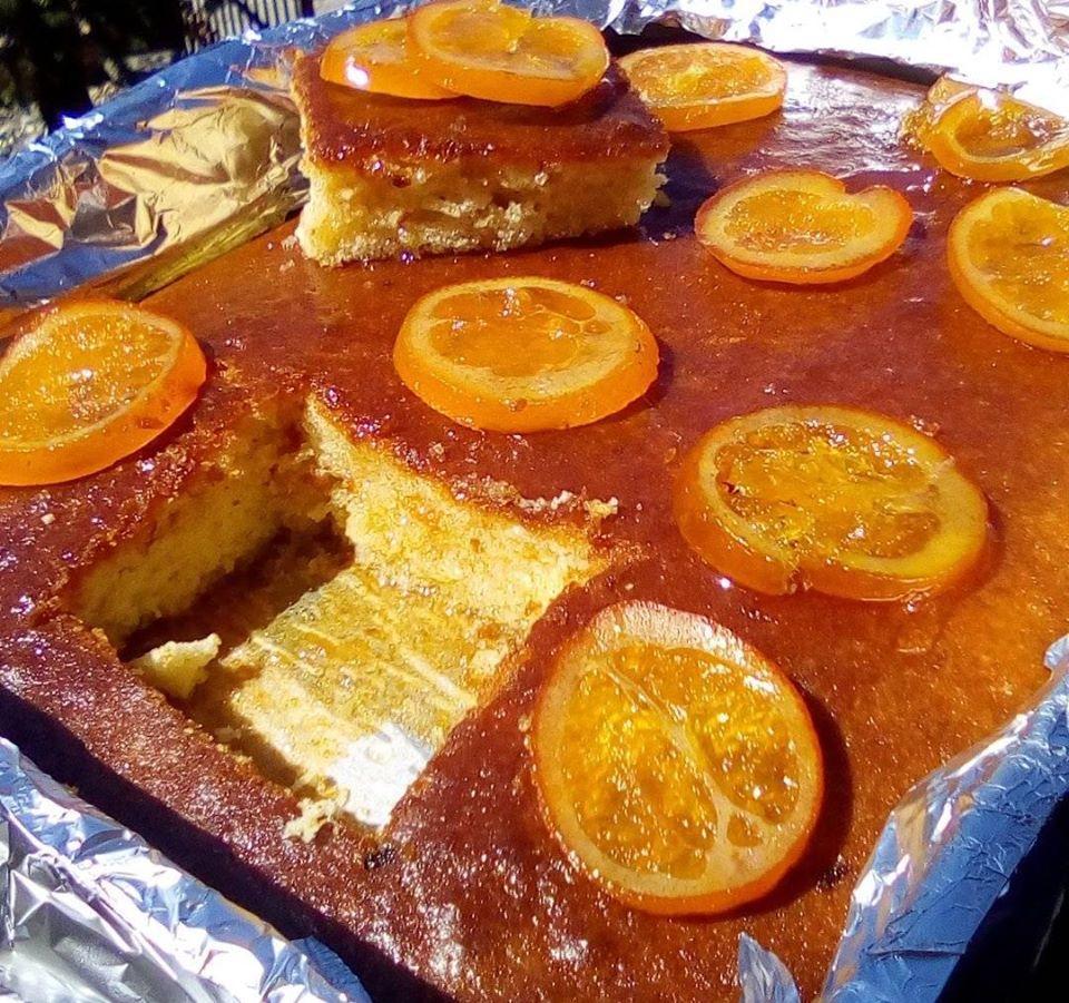 Πορτοκαλόπιτα νηστίσιμη !!!