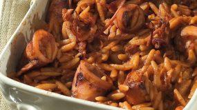 Νηστίσιμη συνταγή- Γιουβέτσι με σουπιές