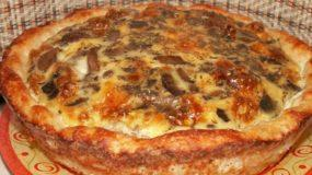 Σας περίσσεψε κιμάς; φτιάξτε αυτή την γευστική τάρτα με κιμά και μανιτάρια