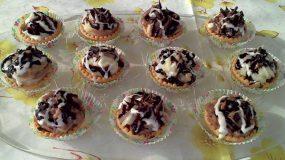 Ταρτάκια με κρέμα φουντουκιού