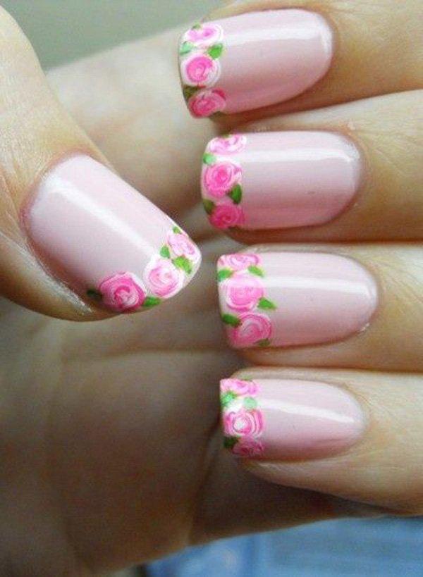 Ανοιξιάτικα σχέδια για νύχια! 36 προτάσεις για γαλλικό για κάθε στυλ γυναίκας!