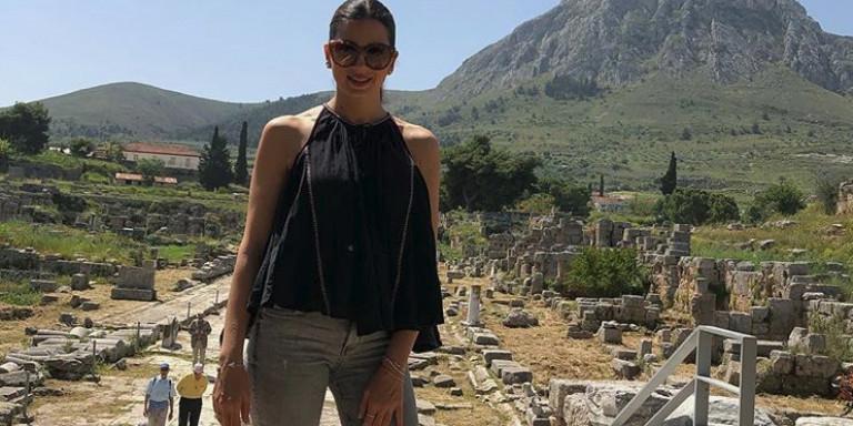 Εκραξαν τη Σταματίνα Τσιμτσιλή για το ντύσιμό της -Τους απάντησε καταλλήλως (εικόνες)