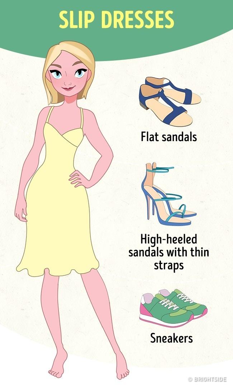 Υπέροχες συμβουλές για το σωστό συνδυασμό φορέματος και παπουτσιών για να δείχνετε πάντα καλοντυμένες!