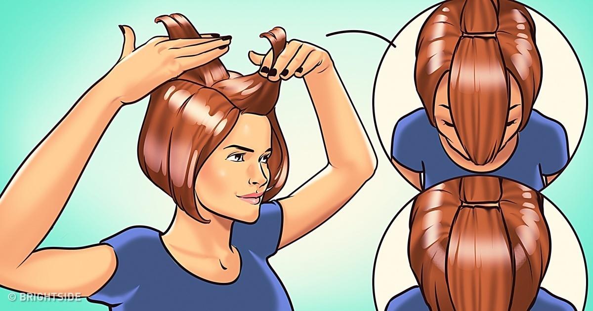 5 Απλά βήματα για να κάνετε σε μόλις λίγα λεπτά ίσια μαλλιά κομμωτηρίου!