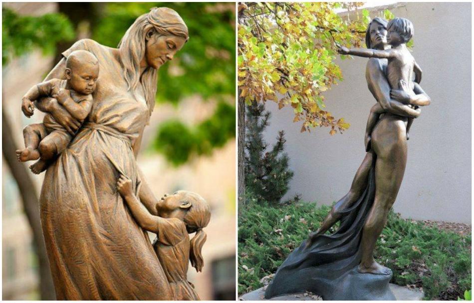 13 Συγκλονιστικά γλυπτά που εξυμνούν με τον πιο όμορφο τρόπο την μητρότητα!