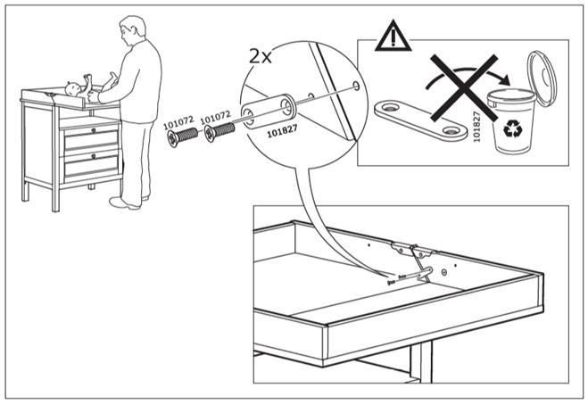 Γονείς Προσοχή: Η IKEA προειδοποιεί όσους έχουν αγοράσει αυτό το έπιπλο για μωρά!