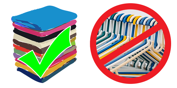 6+1 Τρόποι για να αποθηκεύσετε σωστά τα χειμωνιάτικα ρούχα