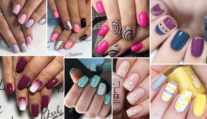Εντυπωσιακές ιδέες για σχέδια στα νύχια την Άνοιξη part1