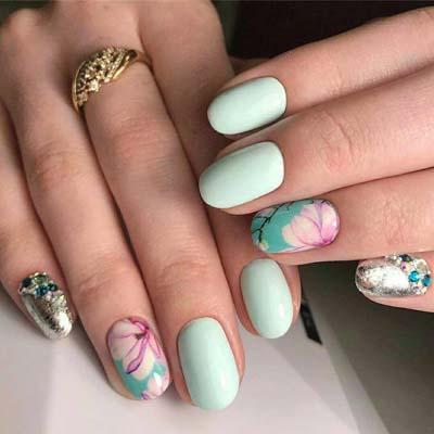 30 εντυπωσιακές ιδέες για σχέδια στα νύχια την Άνοιξη και καλοκαίρι 2019 part 2