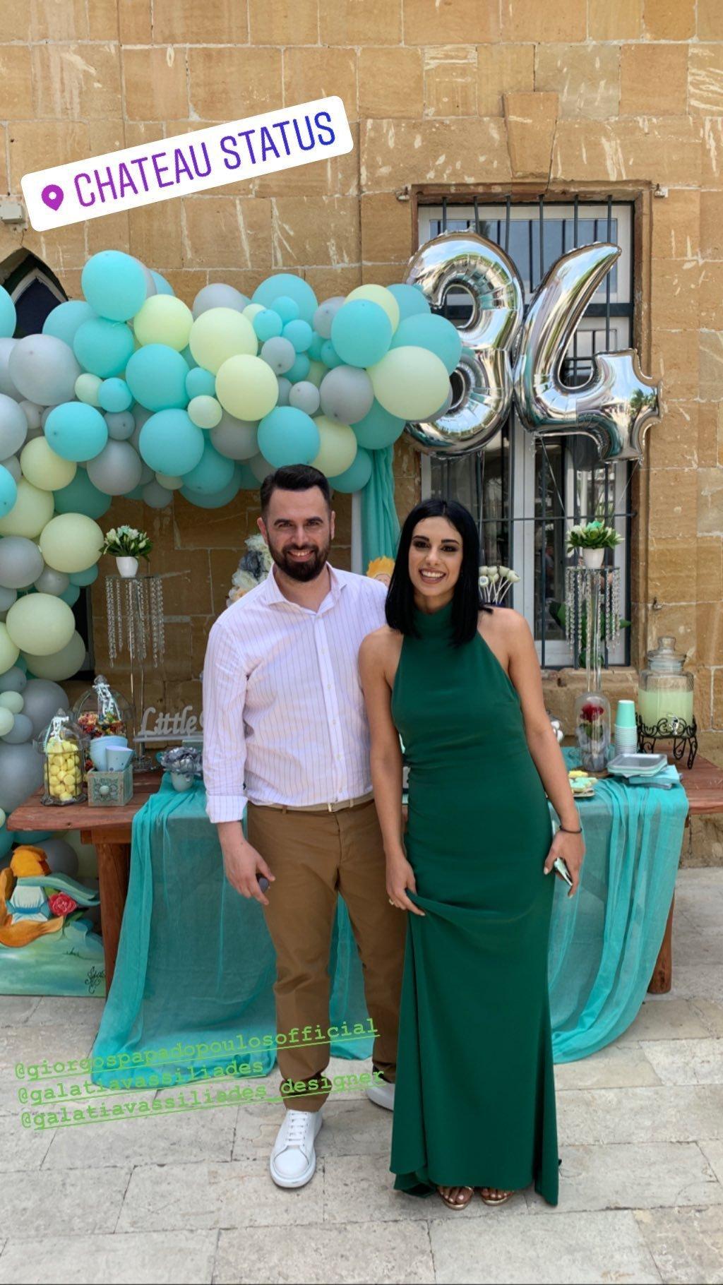 Γιώργος Παπαδόπουλος – Γαλάτεια Βασιλειάδη: Η υπέροχη βάπτιση του γιου τους στην Κύπρο