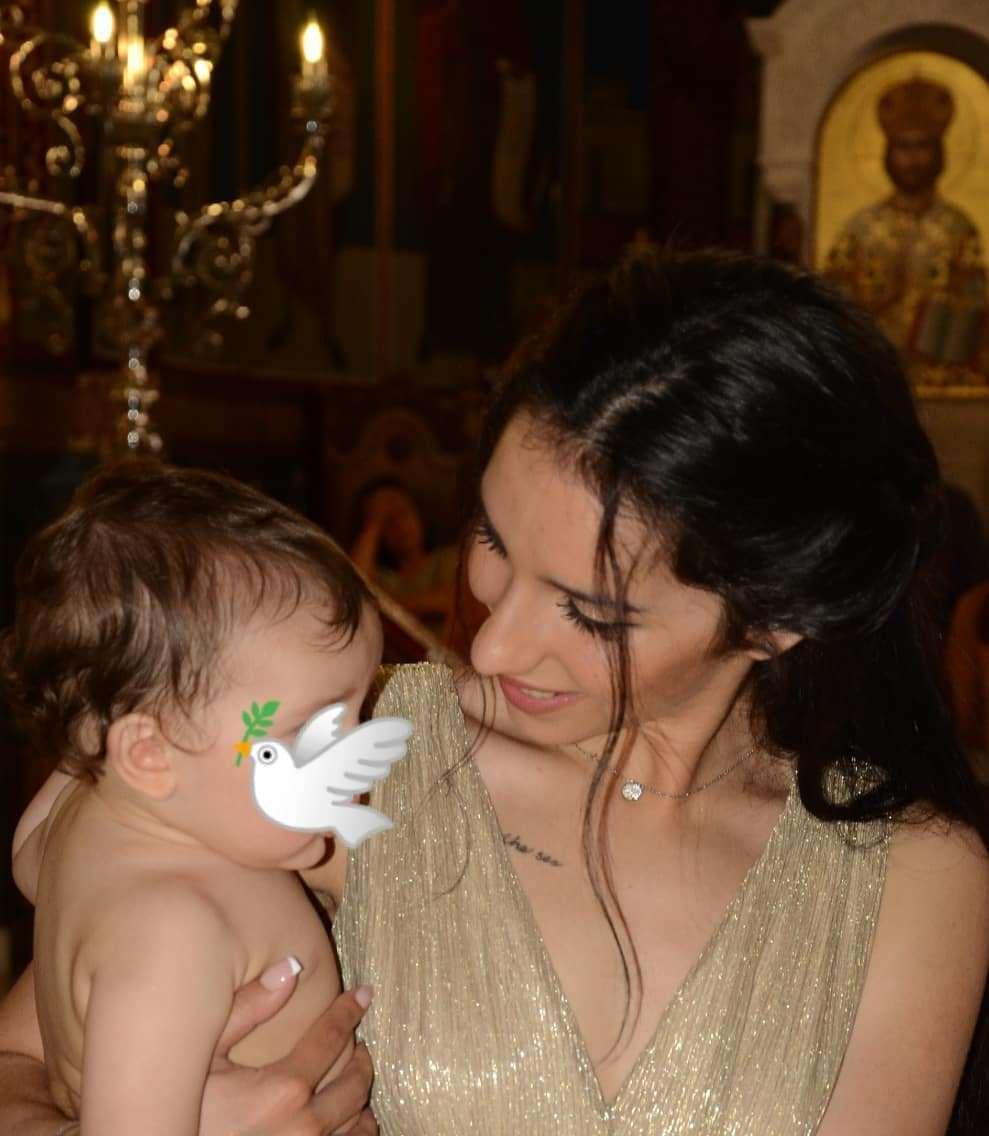 Μαρία Νεφέλη Γαζή: Έκανε τη βάπτιση του γιου της χωρίς τον Άνθιμο Ανανιάδη