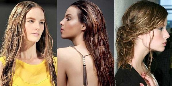 Wet look για μακριά μαλλιά: Δες όλες τις καλοκαιρινές τάσεις!