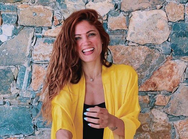 Η Μαίρη Συνατσάκη έκανε το τέλειο μανικιούρ για να υποδεχτεί το καλοκαίρι