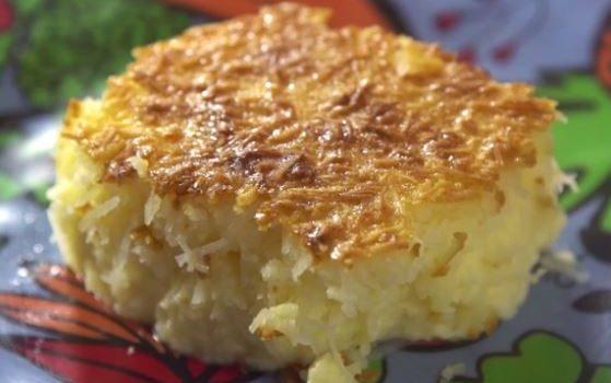 Πανεύκολο γλύκισμα ινδοκάρυδου και ζαχαρούχου με 5 υλικά σε 5 λεπτά για το φούρνο