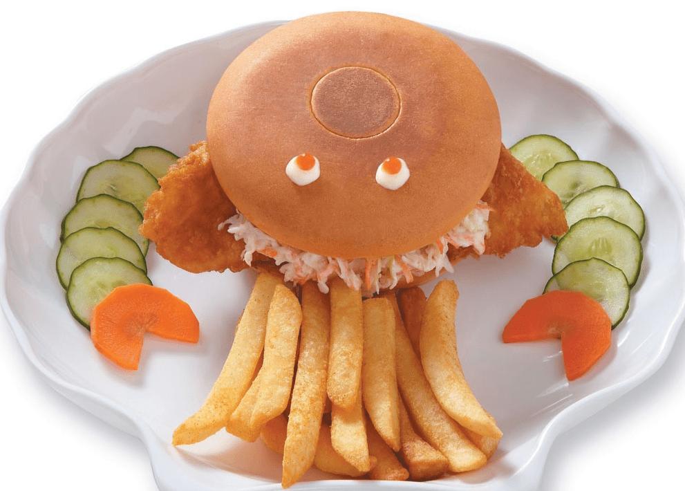 Μπέργκερ ψαριού για «δύσκολα» παιδιά