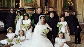 Διέρρευσαν αδημοσίευτες φωτογραφίες από τον γάμο του Harry με τη Meghan Markle (photos)