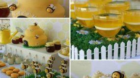 Μια σούπερ καλοκαιρινή βάπτιση με θέμα τις μέλισσες