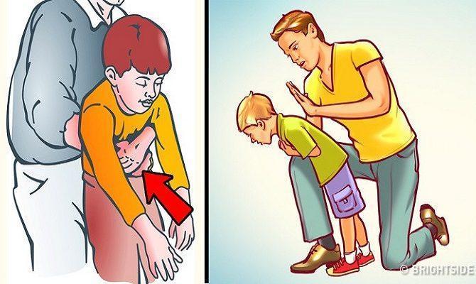 Όταν ένα παιδί πνίγεται: Πως να του παρέχω πρώτες βοήθειες
