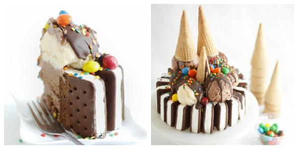 Η πιο εύκολη και εντυπωσιακή τούρτα παγωτό