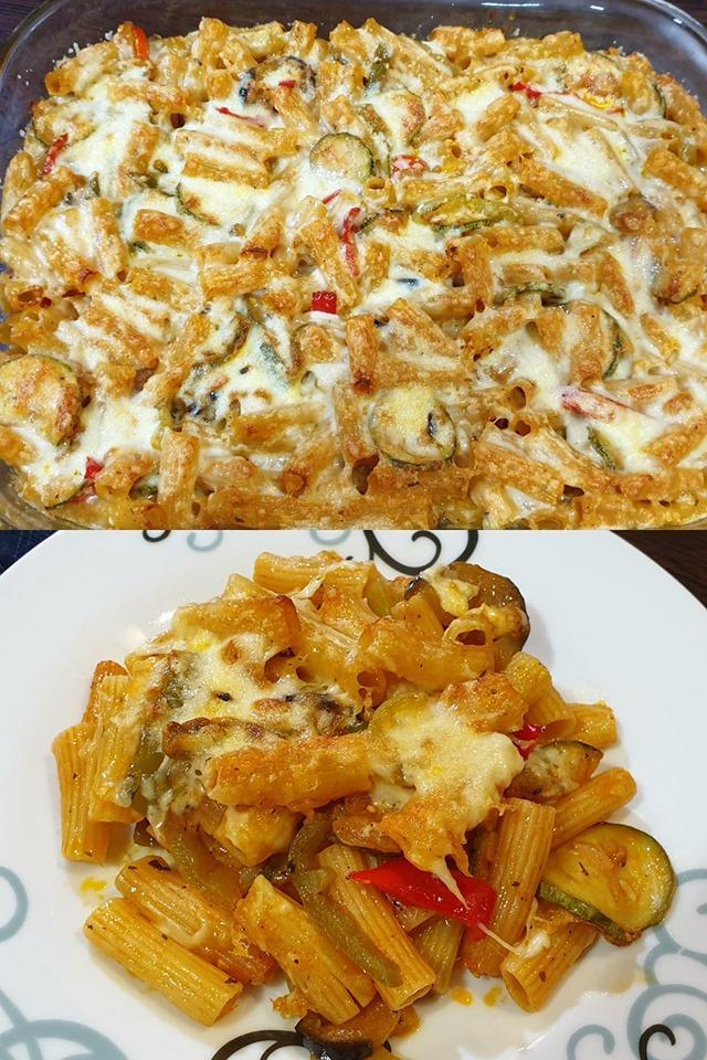 Ριγκατόνι τουρλού στον φούρνο με τυριά εύκολα και γρήγορα