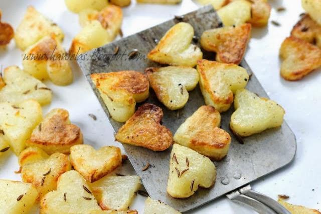 Καρδουλένιες ψητές πατάτες ιδανικές για επίσημο τραπέζι!