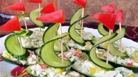 Σαλάτες σε σχήμα βαρκούλας για τους μικρούς μας φίλους!