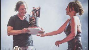 Ελένη Ράντου: Η τούρτα- έκπληξη στον Βασίλη Παπακωνσταντίνου στο θέατρο Βράχων! ( εικόνες & βίντεο)