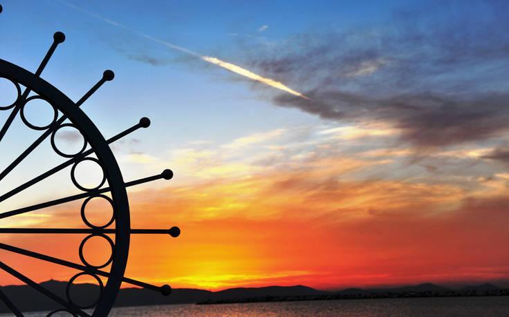 Σαν πίνακας ζωγραφικής- Από τα πιο όμορφα ηλιοβασιλέματα είναι αυτό της Νάξου!