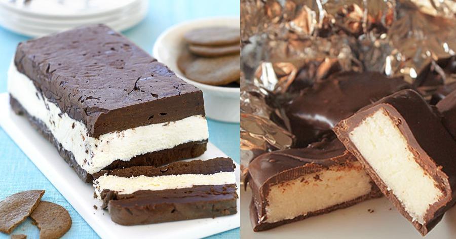 4 εύκολα γλυκά ψυγείου που χρειάζονται μόνο 4 υλικά, έτοιμα σε λίγα λεπτά