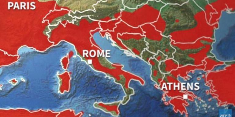Από Δευτέρα έρχεται καύσωνας στην Ελλάδα! Δείτε την πορεία και ποιες περιοχές θα χτυπήσει