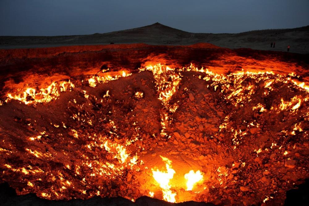 «Οι πύλες της κολάσεως» στο Τουρκμενιστάν