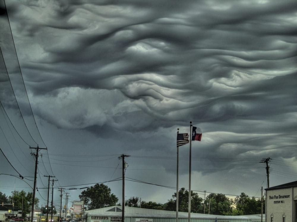 Σύννεφα Asperatus